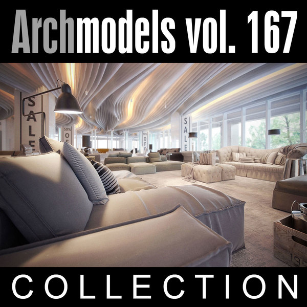 archmodels vol 167 couches 3d model