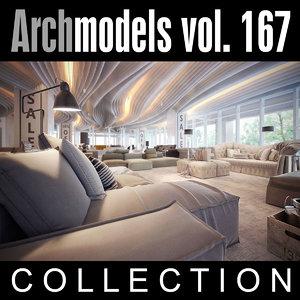 archmodels vol 167 couches 3d model
