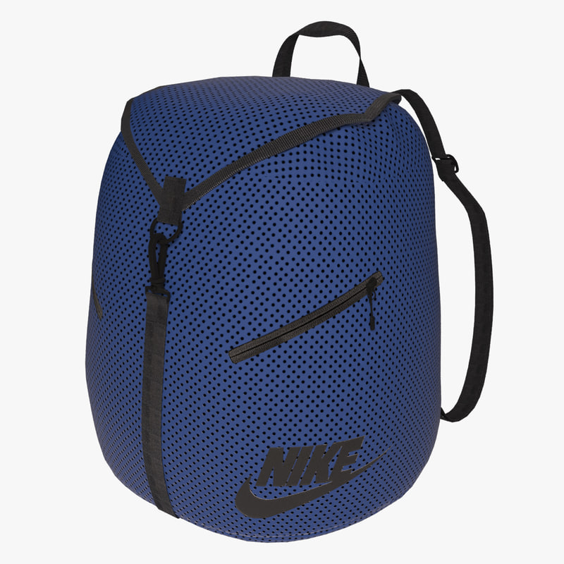 3d nike backpack model