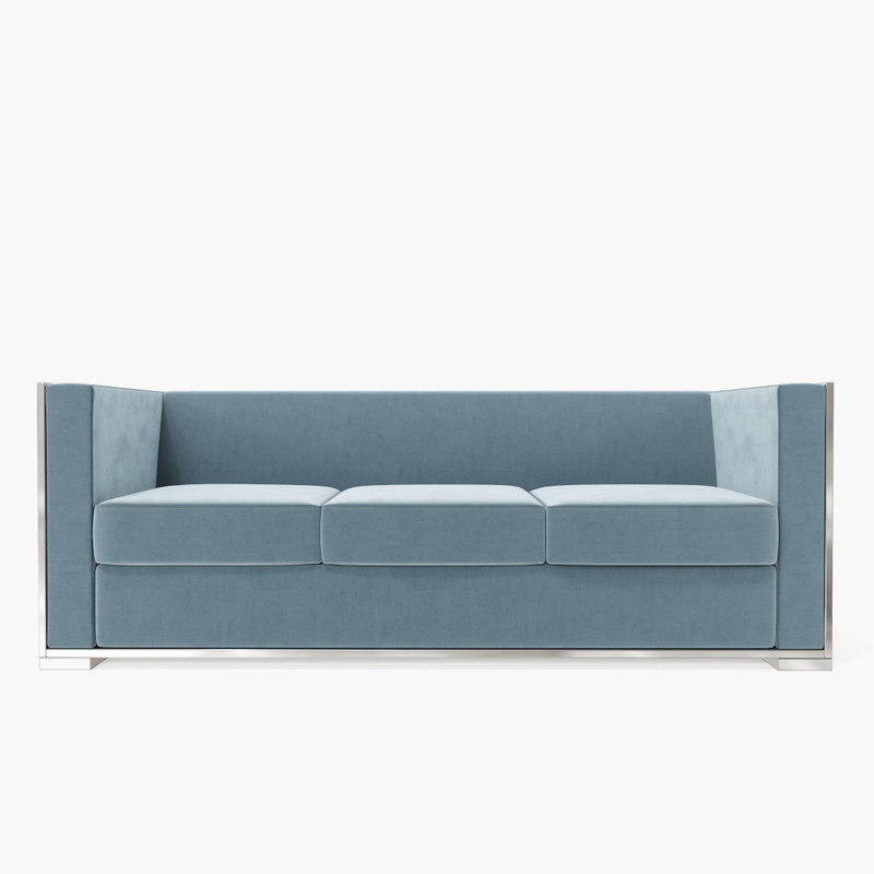 future perfect glossy sofa 3d model