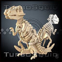 Wooden Dinosaur 3D models