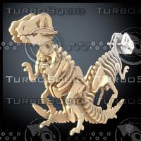 woodcraft tirannosaurus max