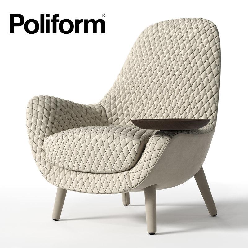 3d model poliform mad king