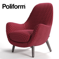 poliform mad king 3d obj