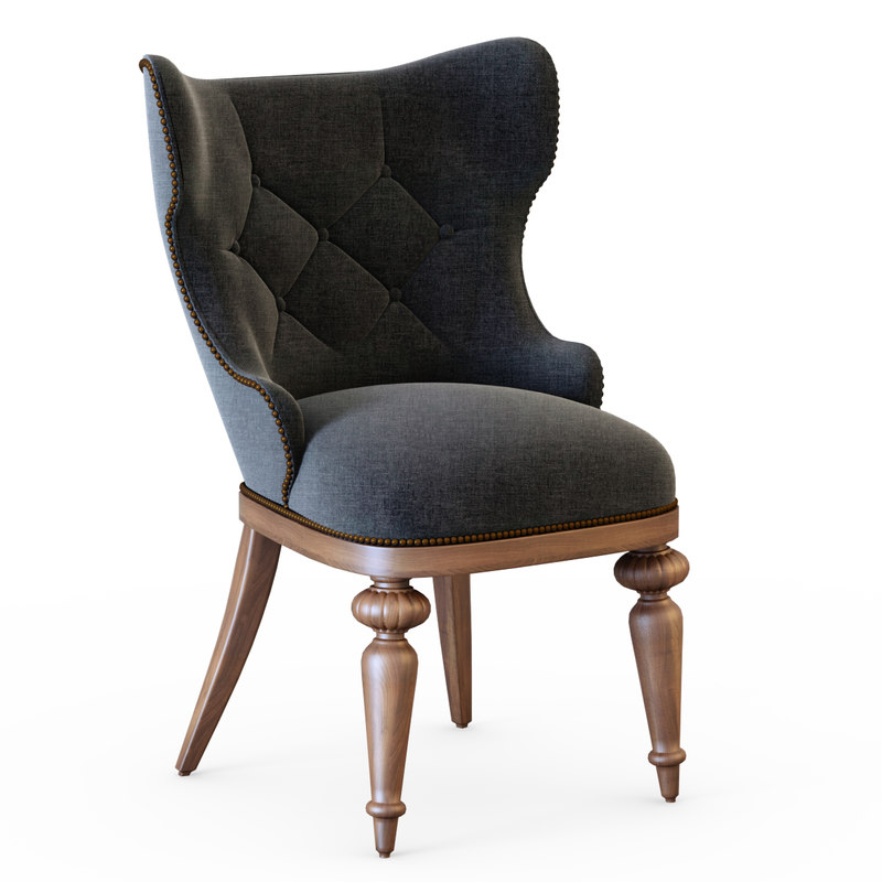 3d chair gamecock model