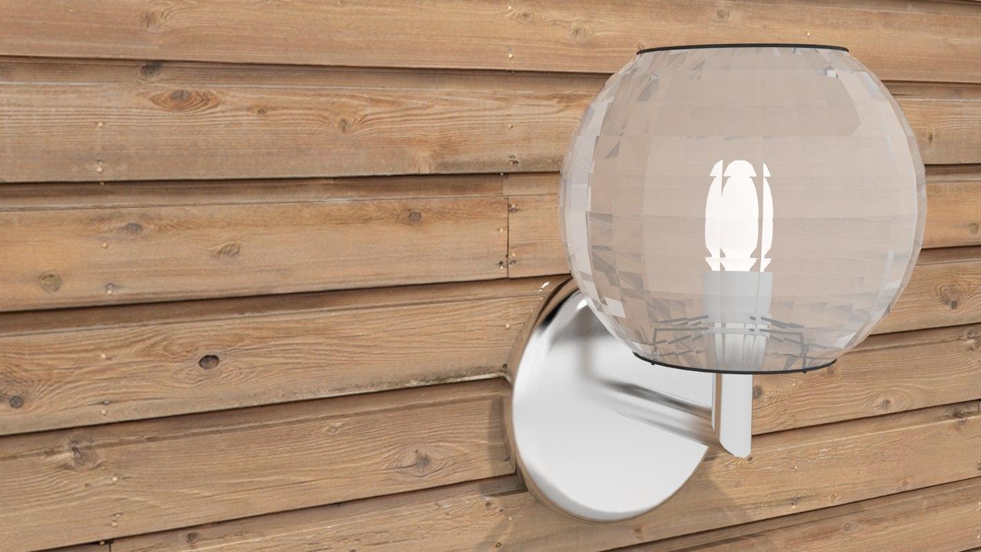 3d sconcer globe model