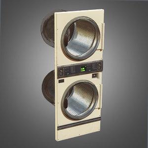double dryer - pbr 3d model