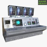 3d pbr ue4 real model