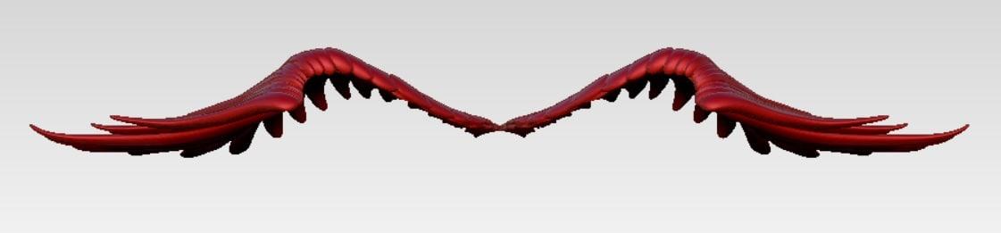 3d wings cnc printer model