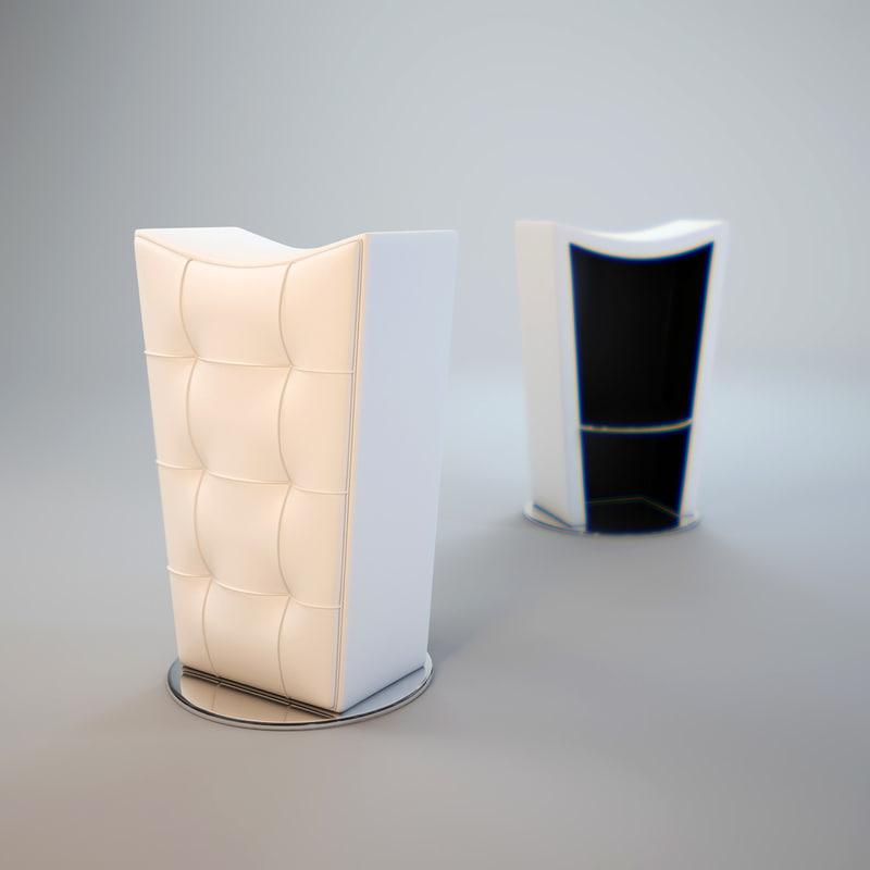 modern-bar-stools 3d obj
