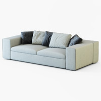 sofa springfield 3d max
