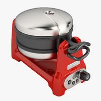 3d model artisan waffle iron