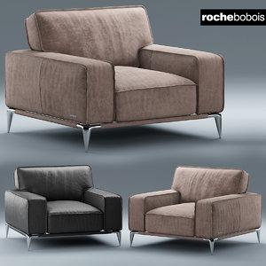3d armchair dangle ellica