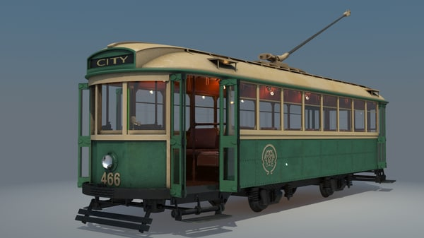 3d class tram 466 x-1