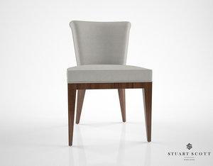 stuart scott eto dining chair 3d max