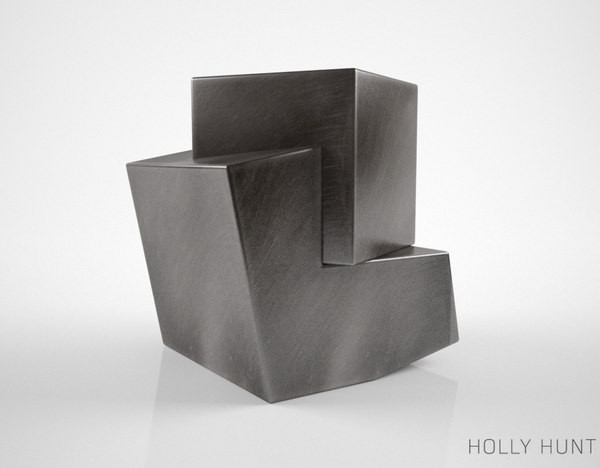 holly hunt pyrite table 3d max