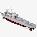 USS Bunker Hill 3D models