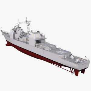 max ticonderoga class cruiser bunker hill