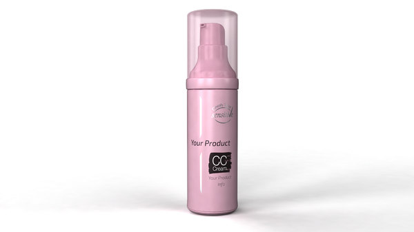 cosmetics cream bottle 3d max