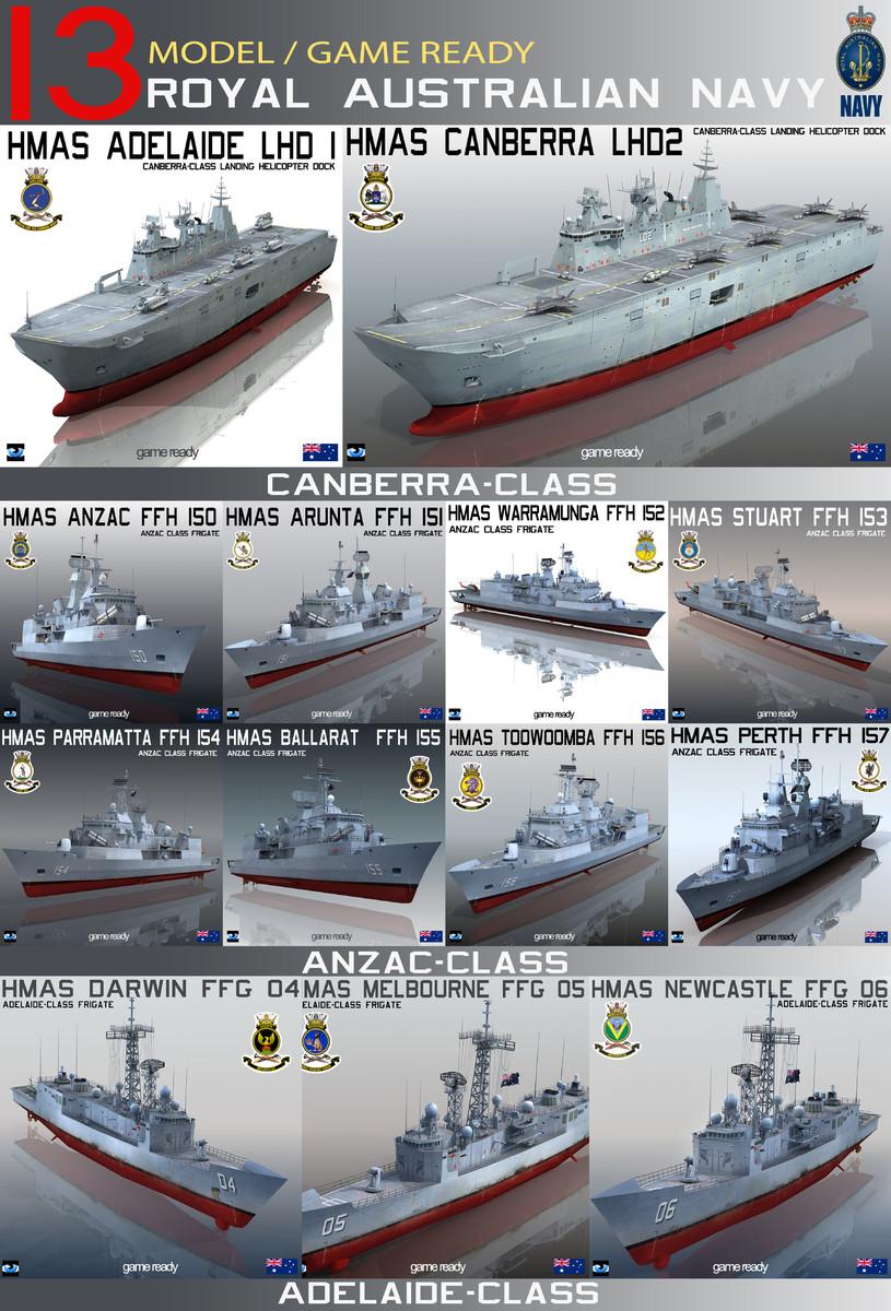 3d hmas royal australian navy
