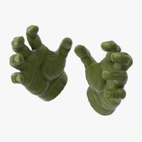 Hulk Hands Open