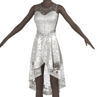 3d dress clothes model