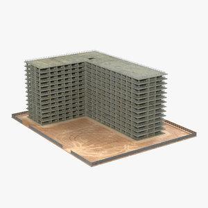 building construction 4 3d x