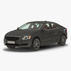 generic sedan 3 simple 3d model