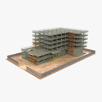 3d building construction