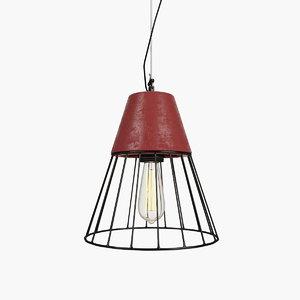 industrial lights 816 lamp 3d model
