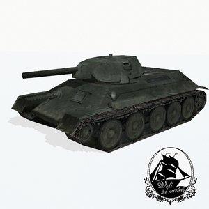t-34 tank max