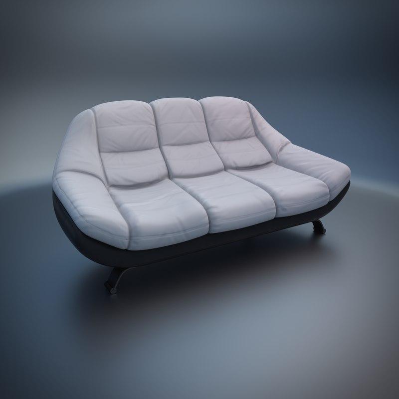 3d sofa mello model