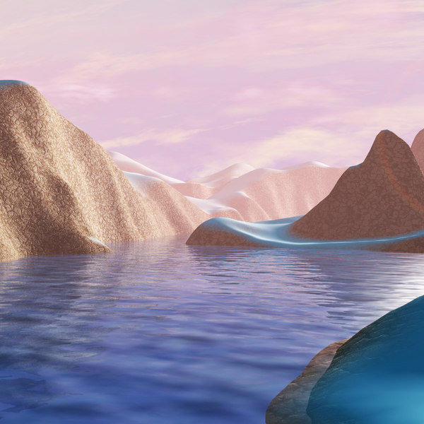 atmosphere effects landscapes materials water 3d max