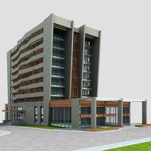 3d building urban scenes
