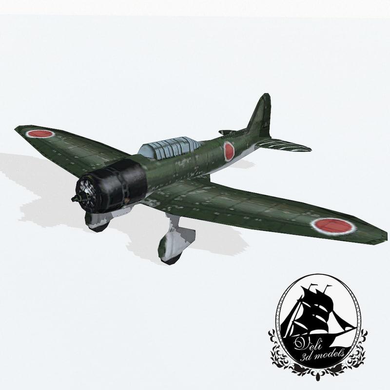 aichi bomber 3d model