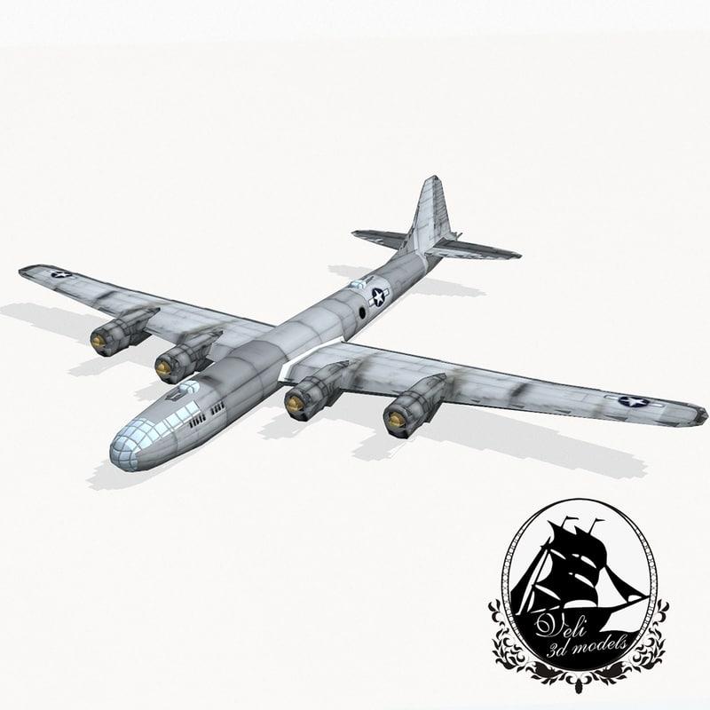 b-29 superfortress obj