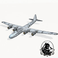 b-29 superfortress obj