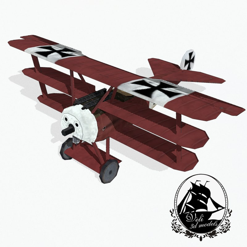 fokker dr fighter aircraft max