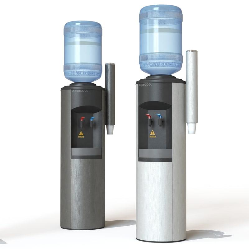 3d model water cooler