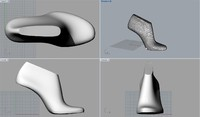 3d pack woman shoe lasts