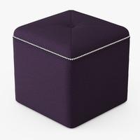 ritz cube ottoman max