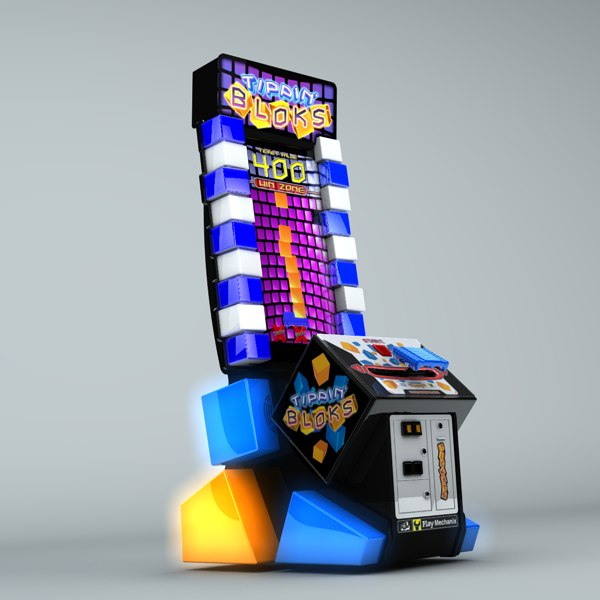 tippin video arcade 3d model