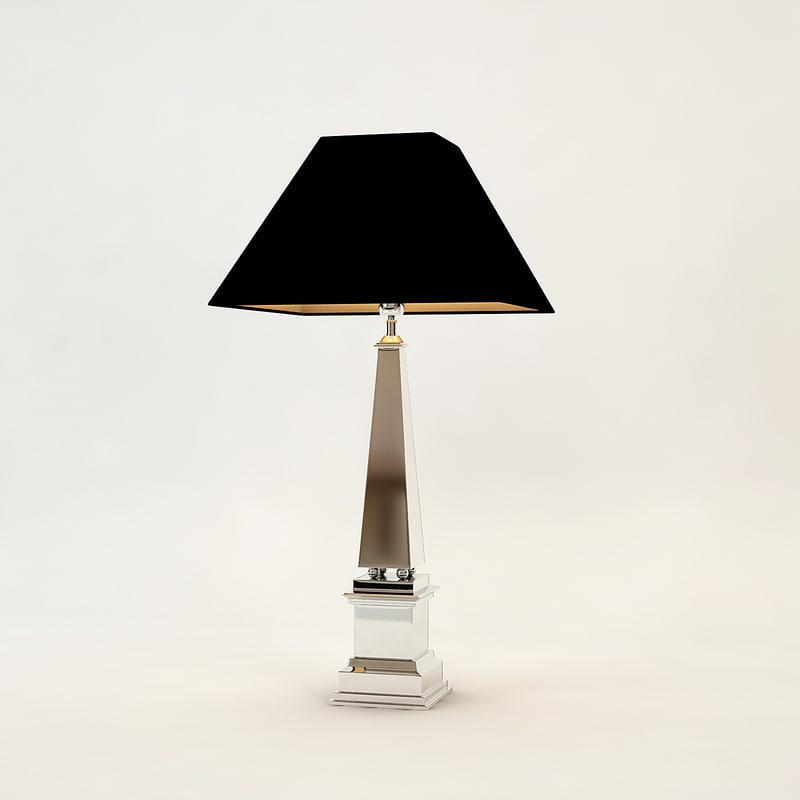 3d table lamp san michele
