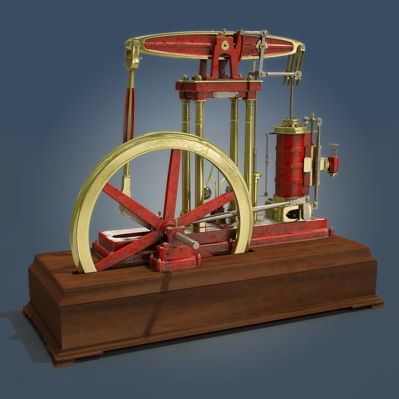 3d model beam engine