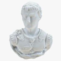 3d model of octavian caesar