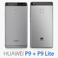 Collection Huawei P9 + P9 Lite Gray