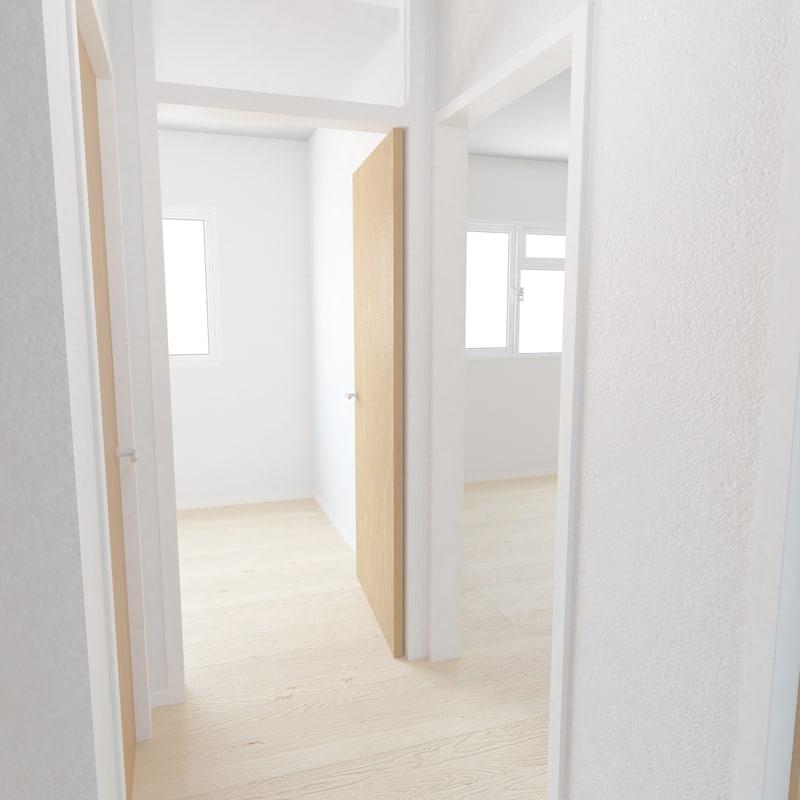 apartment interior 3d model