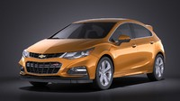 3d 2016 hatchback chevrolet