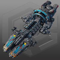 SciFi Commander Ship G7