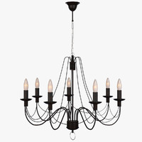 Lamp Hanging Chandelier Castle 10010-7L